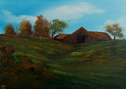 Cynthia Adams - Barn on the Hill.
