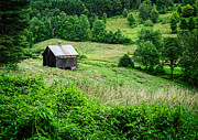 Farm Photos - Barn Pomfret Vermont by Edward Fielding