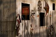 Randall Branham - barn side paraphernalia