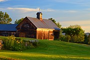 Sharon L Stacy - Barn Sunrise