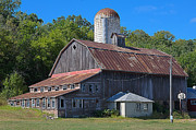 Rusted Tin Roof Photos - Barn by Todd Noble