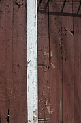 Stripe.paint Prints - Barn Wall Print by Mary Bedy