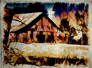 EricaMaxine  Price - Barn Watercolor