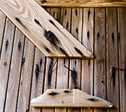 Barn Boards Prints - Barn Wood Print by Off The Beaten Path Photography - Andrew Alexander
