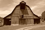 Long Gone Framed Prints - Barn Wood Framed Print by Paul Hennrich