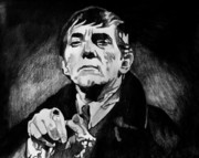 Gothic Drawings Originals - Barnabas Collins by Jeremy Moore