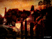 Stone Buildings Mixed Media - Barnard Castle by Chris Knights
