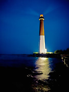 Barnegat Inlet Prints - Barnegat Lighthouse Print by Mark Miller