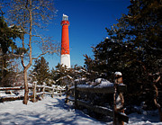 Barnegat Light Posters - Barnegat Winter Poster by Nick Zelinsky