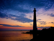 Barnegat Light Posters - Barney Before Sunrise Poster by Mark Miller