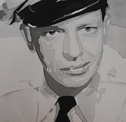 Police Officer Painting Metal Prints - Barney Fife Contrast Metal Print by Jules Wagner