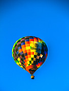 Arizonia Posters - Barneys Hot Air Balloon Poster by Robert Bales