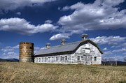 Farming Barns Posters - Barns are Beautiful II Poster by Steve Hurt