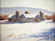 Robert Stump - Barns In Blue