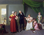 Children.baby Paintings - Baron Jean Louis Alibert by Constant Joseph Desbordes