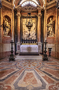Franciscan Saints Posters - Baroque chapel Poster by Jose Elias - Sofia Pereira