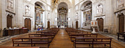 Architecture Prints - Baroque church interior Print by Lusoimages  