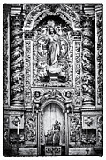Opulence Prints - Baroque Gilded Altar Print by Lusoimages