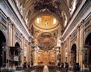 Nave Prints - Barozzi Jacopo Known As Vignola, Church Print by Everett