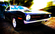 Plymouth Barracuda Framed Prints - Barracuda Bliss Framed Print by Phil