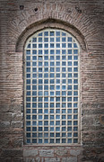 Hagia Posters - Barred Mosque Window Poster by Antony McAulay