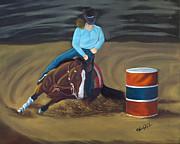 Lana Tyler - Barrel Racer