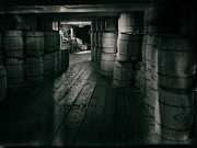Spirits Photos - Barrel Storage by Daniel Hagerman