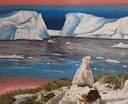 Albatross Paintings - Barren  by Chloe Waterfield