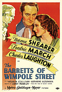 Movie Posters Framed Prints - Barretts Of Wimpole Street Framed Print by Studio Release