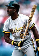 Mlb Photo Posters - Barry Bonds Poster Poster by Sanely Great