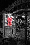 Brick Street Photos - Bartender - One Last Christmas Drink by Lee Dos Santos