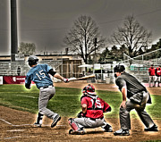 Baseball Bat Photo Prints - Baseball 2 Print by Jimmy Ostgard