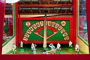 Baseball Art Framed Prints - Baseball Arcade Game Framed Print by Art Blocks