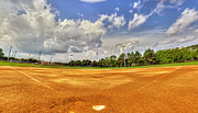 New York Baseball Parks Metal Prints - Baseball Field Metal Print by Tim Buisman