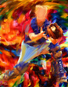 Pitcher Digital Art Prints - Baseball II Print by Lourry Legarde