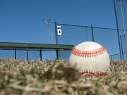 Sport Photography Originals - Baseball Left Behind by Steven Parker