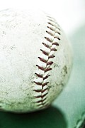 Game Photo Prints - Baseball Print by Priska Wettstein