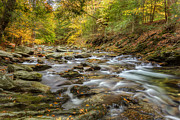Autumn In New England Prints - Bash Bish Brook Print by Bill  Wakeley