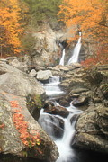 Berkshires Prints - Bash Bish Falls and Stream Print by John Burk