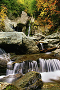The Berkshires Posters - Bash Bish Falls-The Berkshires Poster by Thomas Schoeller