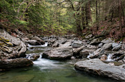Western Massachusetts Prints - Bash Bish River  Print by Thomas Schoeller