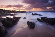 Fleurieu Peninsula Prints - Basham Twilight Print by Mike  Dawson