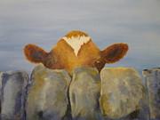 Bashful Print by Steve Urwin
