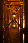 Basilica Art - Basilica Cistern Istanbul by Robert Preston