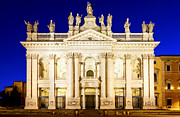 Lateran Framed Prints - Basilica di San Giovanni in Laterano Framed Print by Fabrizio Troiani