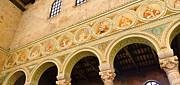 Basilica Di Sant' Apollinare Nuovo - Ravenna Italy Print by Jon Berghoff