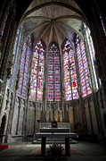 Medieval Temple Art - Basilica of St Nazaire and St Celse by Ruben Vicente