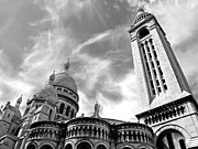 Sacre Coeur Photos - Basilique Du Sacre Coeur by Alex Cassels