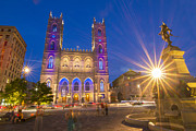 Old Montreal Art - Basilique Notre-Dame de Montreal by Mircea Costina Photography