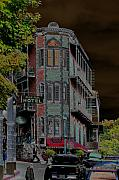 Eureka Springs Prints - Basin Park Hotel Print by Jan Amiss Photography